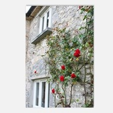 Roses at Cahir Castle Postcards (Package of 8)
