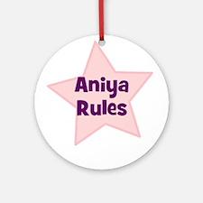 Aniya Rules Ornament (Round)