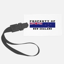Property Of New Zealand Luggage Tag