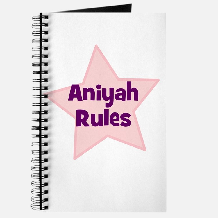 Aniyah Rules Journal