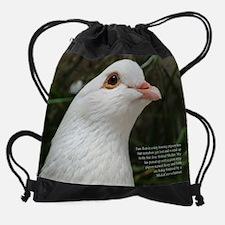06 june - dove copy.jpg Drawstring Bag