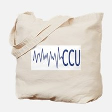 CCU - EKG Tote Bag