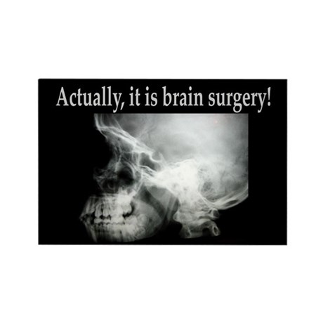 Brain Surgery! Rectangle Magnet