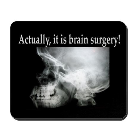 Brain Surgery! Mousepad