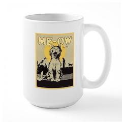 Me-ow Cat Song Large Mug