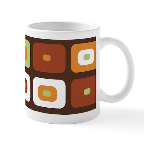 Brown Mosaic Mug