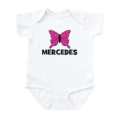 Butterfly - Mercedes Infant Bodysuit