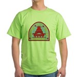 Raleigh Police Green T-Shirt