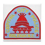 Raleigh Police Tile Coaster