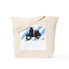 Classic Vespa Badge Tote Bag