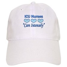 ICU Nurses - Care Intensely Baseball Cap