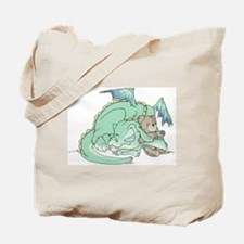 Baby Dragon Tote Bag