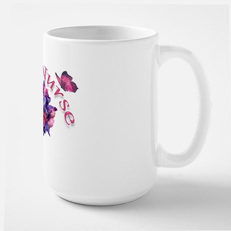 ICU Nurse Iris & Tulips Mug