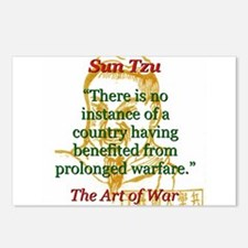 There Is No Instance - Sun Tzu Postcards (Package