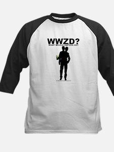 WWZD? Kids Baseball Jersey
