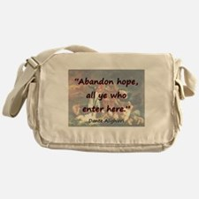 Abandon Hope - Dante Messenger Bag