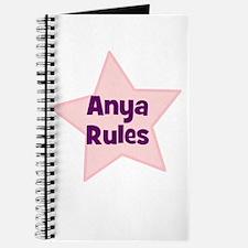 Anya Rules Journal