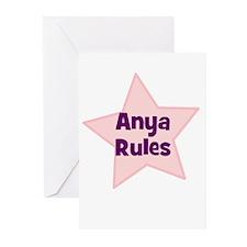 Anya Rules Greeting Cards (Pk of 10)