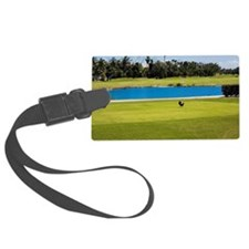 Lake in a golf course, Key West, Luggage Tag