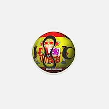 Spain Soccer Mini Button