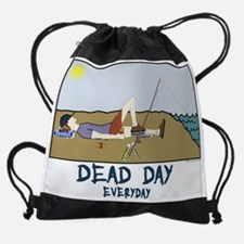 Dead Day Drawstring Bag