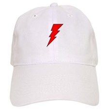 The Red Lightning Bolt Shop Baseball Cap