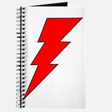 The Red Lightning Bolt Shop Journal