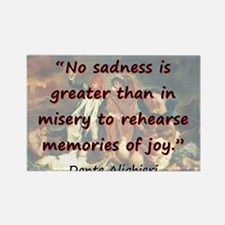 No Sadness Is Greater - Dante Magnets