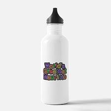 Worlds Greatest Mauricio Water Bottle