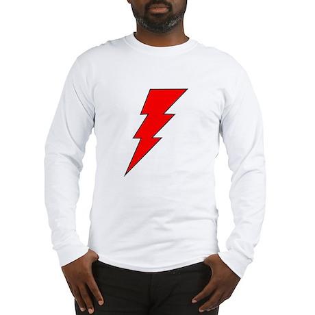 The Red Lightning Bolt Shop Long Sleeve T-Shirt