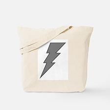 The Lightning Grey Shop Tote Bag