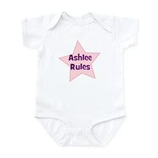 Ashlee Rules Onesie