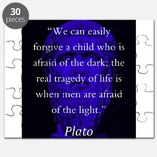 We Can Easily Forgive A Child - Plato Puzzle