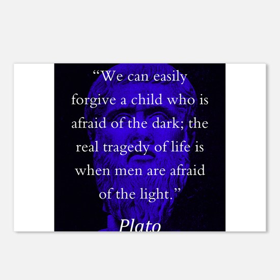 We Can Easily Forgive A Child - Plato Postcards (P