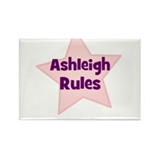Ashleigh Rules Rectangle Magnet