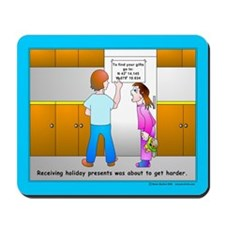Holiday Geocaching Mousepad
