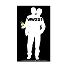 What Would Zaphod Do? Rectangle Decal