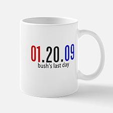 Bushs Last Day Mug