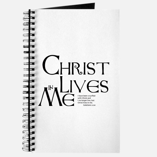 Christ Lives in Me Journal
