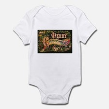 Victorian Merry Christmas Infant Bodysuit