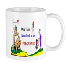 Pregnant One Time Mug