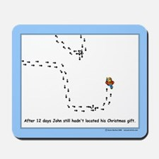Christmas Geocacher Mousepad