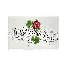 Wild Irish Rose Rectangle Magnet (10 pack)