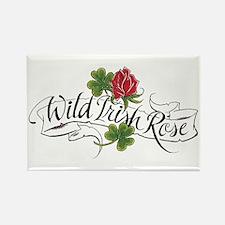 Wild Irish Rose Rectangle Magnet