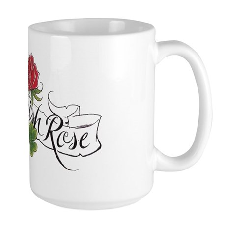 Wild Irish Rose Large Mug