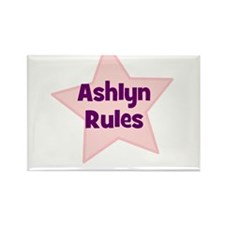 Ashlyn Rules Rectangle Magnet