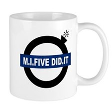 MI5 DID IT Small Mug