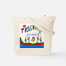 Pregnant Art Tote Bag