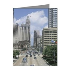 Traffic in city Note Cards (Pk of 20)