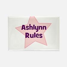 Ashlynn Rules Rectangle Magnet
